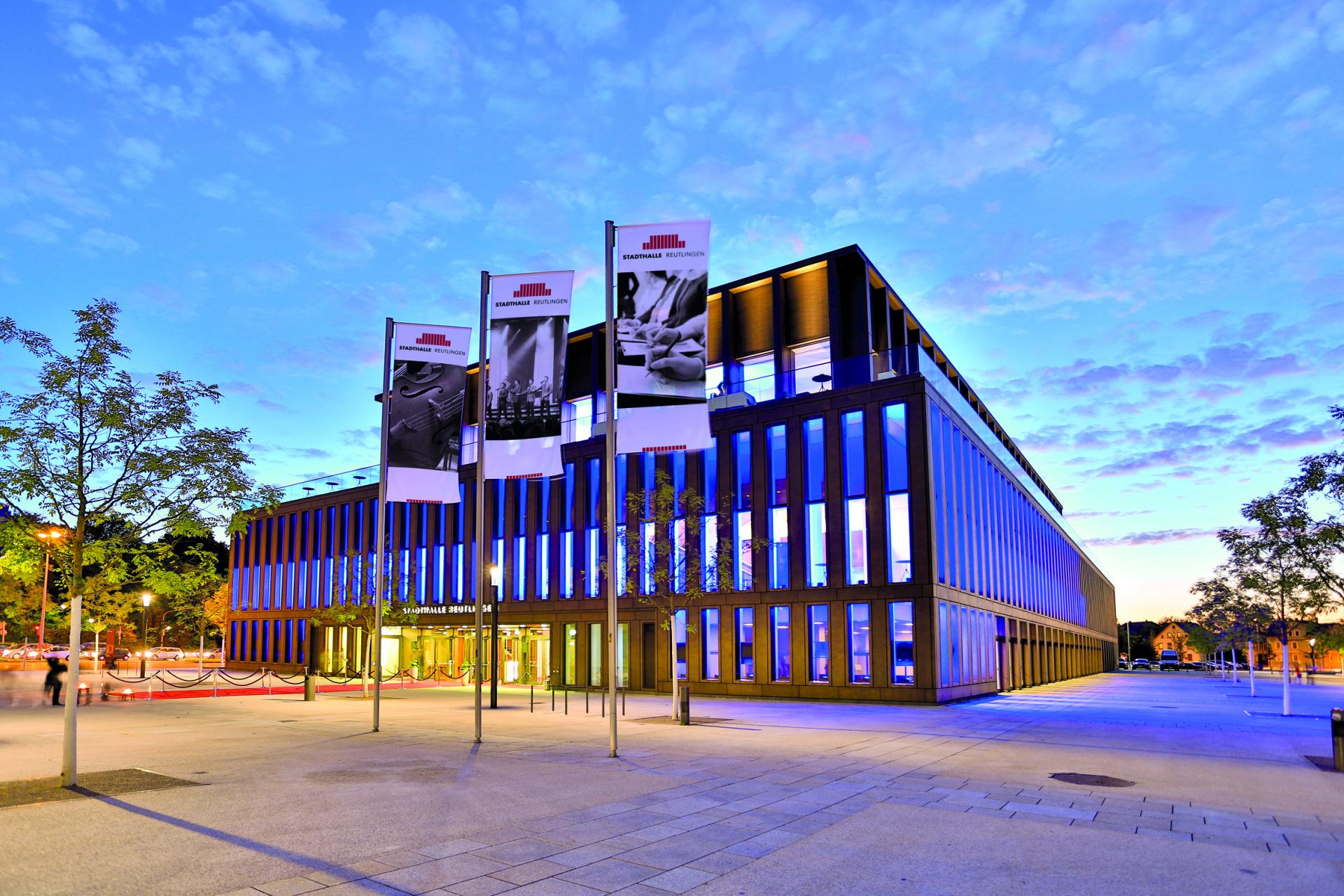 72764 Stadthalle Reutlingen Foto