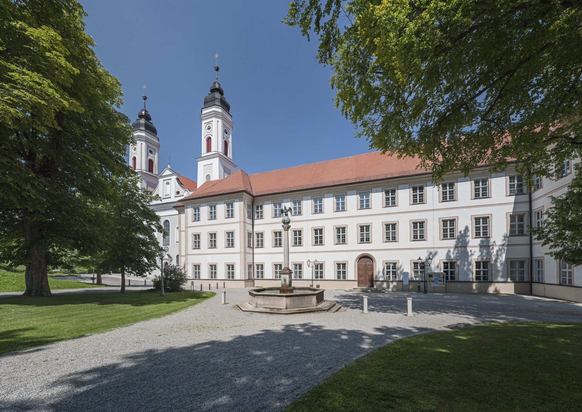 87660 Kloster Irsee - Haupteingang