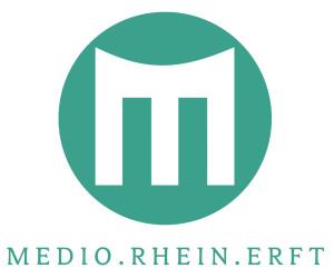Logo_MEDIO_tuerkis_mit_Schriftzug