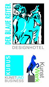 76227 Hotel Der Blaue Reiter_Karlsruhe_3er_logo